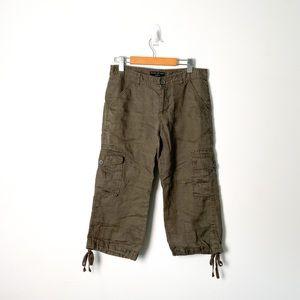 Banana Republic Martin Fit Cargo Capri Pants